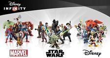 Disney Infinity 1.0 - 2.0 - 3.0 - Star Wars Marvel Originals - Combined Postage