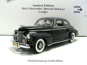 DANBURY MINT 1941 CHEVROLET SPECIAL DELUXE COUPE LTD EDITION - MIB WITH PAPERS