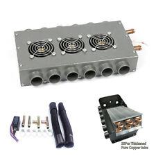 Universal Under Dash Heater 12V Heat w/ Speed Switch Metal for Car Truck 12 Port