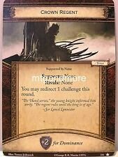 A Game of Thrones 2.0 LCG - 1x Crown Regent #211 - base Set-second edition