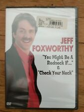"JEFF FOXWORTHY  ""You might Be A Redneck if..."" and ""Check Your Neck"" new dvd"