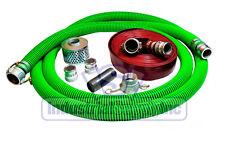 "3"" Epdm Fcam x Mp Suction Hose Comp. Camlock Kit w/50' Red Discharge Hose (Fs)"