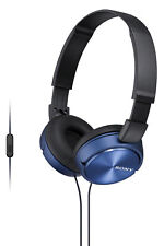 NEW Sony MDRZX310APL On-Ear Headphones: Blue