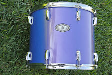 "RARE PEARL VISION 16"" BLUE RACK TOM SST BIRCH PLY SHELL for YOUR DRUM SET! #B170"