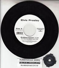 "ELVIS PRESLEY  Rubberneckin' 7"" 45 rpm vinyl record + juke box title strip RARE!"