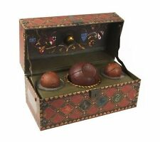 Officially Licensed Harry Potter Collectible Quidditch Set New 9780762459452