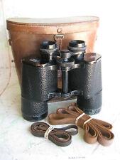 1936 Zeiss Telerem 18x50 center-focus binoculars cased Nice! Rare! Powerful!