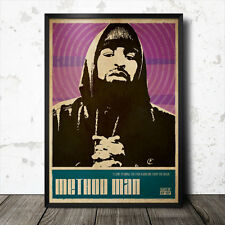 Method Man Hip Hop Art Poster Rap Music Wu Tang Clan NWA ODB