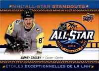 2018-19 Upper Deck Tim Hortons NHL All Star Standouts Sidney Crosby #AS-2