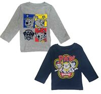 Paw Patrol Tee Shirt t Toddler Boys Birthday Long Sleeve Boy Size  2T 3T 4T NWT