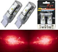 LED Light 30W 7440 Red Two Bulbs Rear Turn Signal Replace Upgrade Lamp Fit