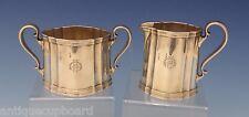 Tiffany & Co. Sterling Silver Sugar Bowl & Creamer Set 2pc Art Deco (#0646)