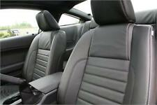 2010 Ford Mustang Base/GT Coupe Leather Interior BLACK