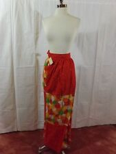 NOS NWT Vtg 60s 70s Colorful Patchwork MAXI WRAP AROUND SKIRT Hippie Boho Gypsy