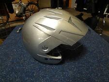 Levior Touring 5 Motorradhelm Helm silber grau Größe S