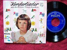Kinderlieder mit den Wiener Sängerknaben   Philips 45  von 1958