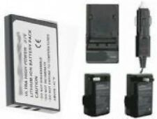 Battery + Charger for Aiptek NP-60 48-090-00028 Z200LE