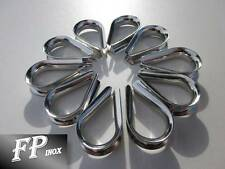 Cosse Coeur 6 mm ( lot de 10 ) inox 316 - A4