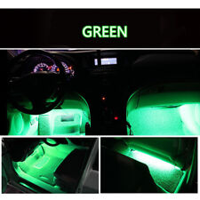 4× Green 9 LED Charger Interior Light Car SUV Accessories Decorations Lamp Bulb