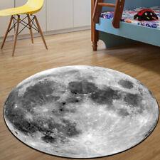 Creative Carpet Chair Floor Earth Moon Round Rug Yoga Mat Room Mat Home Decor