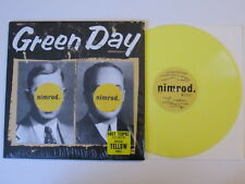 GREEN DAY Nimrod LP REPRISE RECORDS YELLOW VINYL limited edition UNPLAYED