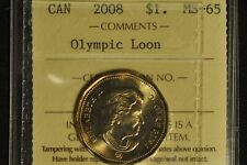 Canada 2008 Dollar Olympic Loon - ICCS - MS-65 -