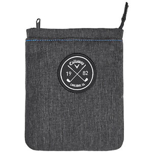 Callaway Clubhouse Collection Valuables Pouch Zipper Phone Coin Lined Wallet