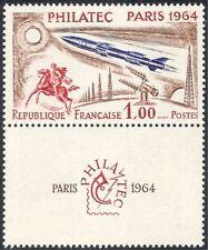 FRANCIA 1964 Razzo/spazio/Cavalli/Comunicazione/Radio/stampex 1v+lbl (n24229)