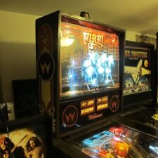 Williams Pinball Machine Fire 1987 Shopped And With Leds In 2018 Great Game