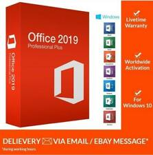 Microsoft Office 2019 Pro Plus 🔥 Lifetime ⚡ License Key 🔑 for Windows 🏆 Fast