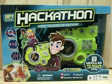 Spy Code Hackathon YULU Games Ages 8+ (New with box damage)