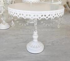 Large Shabby Chic White Cupcake Wedding Decoraton Cake Christmas Display Stand