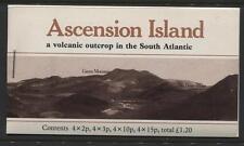 Ascension - 1981 - Booklet - SG# SB3 - SG CV £14  - Stapled Left