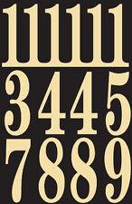 "Hy-Ko Mm-5N Self-Stick Numbers, 3"", Black/Gold"