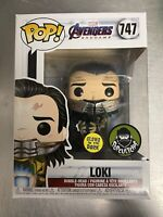 Funko Pop! Loki GITD Funko Shop Exclusive 747 *IN HAND* popcultcha sticker