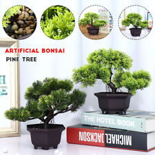 Bonsai Simulation Artificial Pot Plant Home Office Fake Pine Tree Decor Plastic