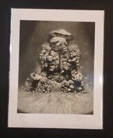 Miles Johnston Mycelial Man Fine Art Print 7/75 Hi-Fructose mushroom tool poster