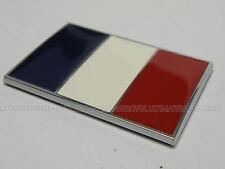 FRANCE français Moto Voiture Chrome Drapeau Badge PEUGEOT 206 306 407 1007 porte réfrigérateur