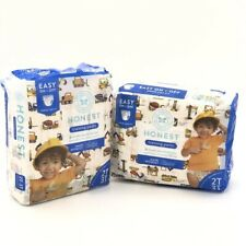 2T/3T Toddler Training Pants 52 Count 2Pk The Honest Company Construction Zone
