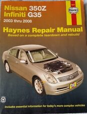 Haynes Repair Manual 72011: Nissan 350Z and Infiniti G35, 2003-2008 (2008)