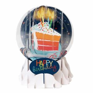 Pop-Up Greeting Card Everyday Globe by  Up With Paper - Big Slice of Cake