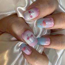 Pink Flamingos color nail polish wraps Zz11 street art strips