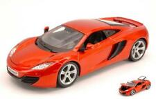 Mc Laren Mp4-12C 2011 Orange Metallic 1:24 Burago BU21074O