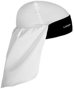 Halo Solar Skull Cap and Tail - White
