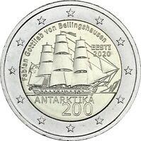 Estland 2 Euro 2020 bfr 200. Jahre der Entdeckung der Antarktis