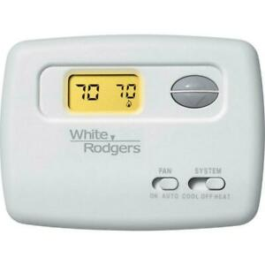 White-Rodgers 1F78-144 Single Stage Non-Programmable Thermostat