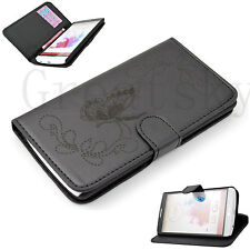 Magnetic Flip Card Pocket Leather Skin With Hard Shell Cover Case For LG G3 New