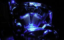 LED Motorcycle Engine Neon Accent Lighting Blue Waterproof Custom 12v Pair Glow