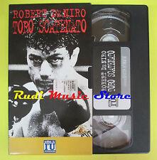 film VHS TORO SCATENATO 1999 Robert de niro ELLE U L'UNITA' (F21) no dvd