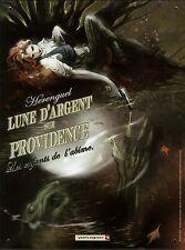 PLAQUE TOLE EMAILLEE  VENTS D'OUEST  Lune d'Argent sur Providence  HERENGUEL  HC